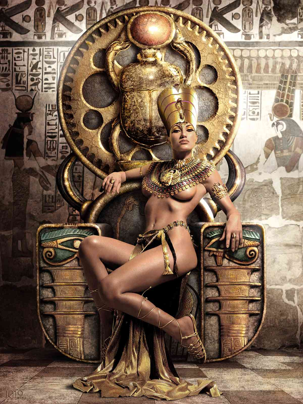 EGYPTIAN QUEEN OF THE 1019 PROPHECY